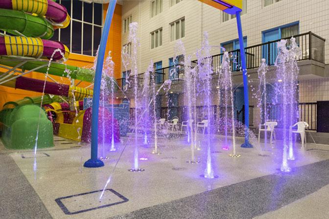 Blue Zone Fountain Pad